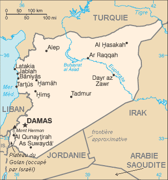 Syria : map