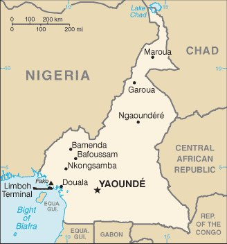 Cameroon : maps