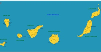 Canaries : maps