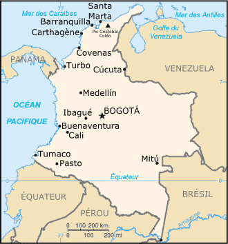 Colombia : maps